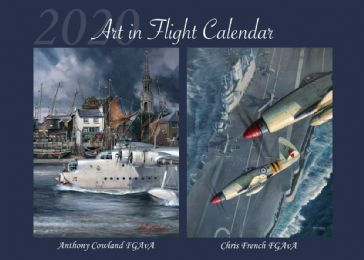 Art in Flight 2020 Calendar.